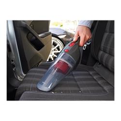 Aspirateur de table Black & Decker DustBuster Auto NV1200AV - Aspirateur - Aspirateur à main - sans sac - rouge/gris