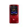 Lettore MP3 Sony - NWZ-E384 8GB Rosso
