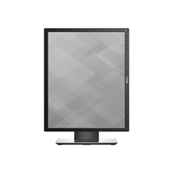 "Écran LED Dell P1917S - Écran LED - 19"" (19"" visualisable) - 1280 x 1024 - IPS - 250 cd/m² - 1000:1 - 6 ms - HDMI, VGA, DisplayPort - noir"