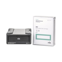 Supporto storage Hewlett Packard Enterprise - Rdx3tb usb 3.0 external disk backup
