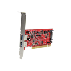 Foto Scheda PCI Scheda pci 2 porte usb Startech Schede PCI