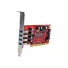 Scheda PCI Startech - Scheda pci 4 porte usb