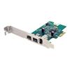 Scheda PCI Startech - Scheda pci express firewire