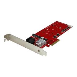 Scheda PCI Startech - Scheda pcie controller 2x m.2