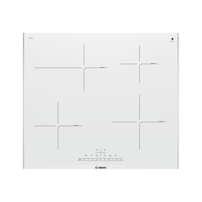 Piano cottura Bosch - PIANO INDUZIONE BIANCO60 PIF672FB1E