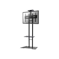 """Support pour LCD NewStar Monitor/TV Floor Stand PLASMA-M1700ES - Pied pour écran plasma - acier - noir - Taille d'écran : 32""""-55"""""""
