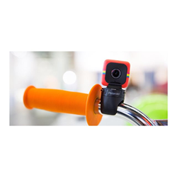 Action cam Polaroid - Cube+ wifi lifestyle red