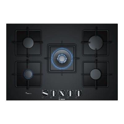Piano cottura Bosch - PIANO GAS VETRO NERO 75 PPQ7A6B10