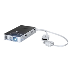 Vidéoprojecteur Philips PicoPix PPX 4350 Wireless - Projecteur DLP - 50 lumens - 640 x 360 - 16:9