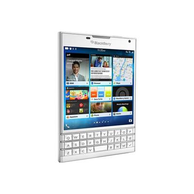 BlackBerry - BLACKBERRY PASSPORT WHITE 4.5IN