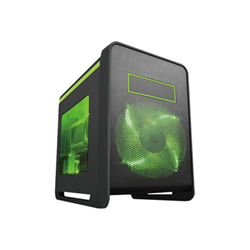 Cabinet Techsolo - Micro atx gaming case incl