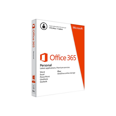Microsoft - OFFICE365PERSONALSUB1Y MEDIALESS