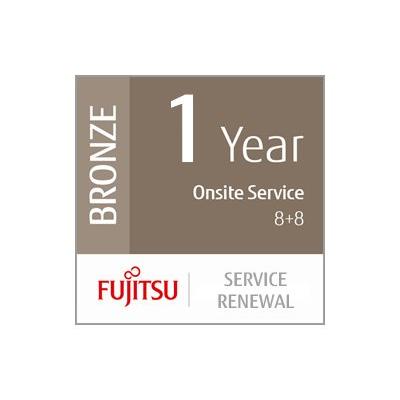 Fujitsu - 12 MONTHS ONSITE 8+8 RESPONSE