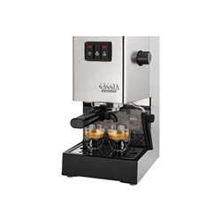 "Expresso et cafetière Gaggia Classic RI9403 - Machine à café avec buse vapeur ""Cappuccino"" - 15 bar - inox"