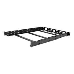 V7 - Rack mount universal rail 1u