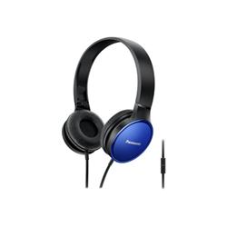 Panasonic RP-HF300E - Casque - sur-oreille - jack 3,5mm - bleu