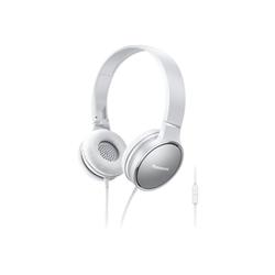Panasonic RP-HF300E - Casque - sur-oreille - jack 3,5mm - blanc