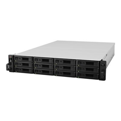 Serveur de stockage en réseau Synology RackStation RS2416+ - Serveur NAS - 12 Baies - rack-montable - SATA 6Gb/s - RAID 0, 1, 5, 6, 10, JBOD, disque de réserve 5, 6 disques de secours, disque de réserve 10, disque de réserve 1 - Gigabit Ethernet - iSCSI - 2U