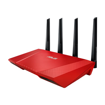Asus - RT-AC87U RED