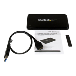 Box hard disk esterno Startech - Usb 3.0 to 2.5in sata hdd