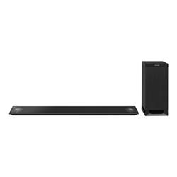 Soundbar Panasonic SC-HTB885EG - Système de barre audio - pour home cinéma - Canal 5.1 - sans fil - 500 Watt (Totale) - noir