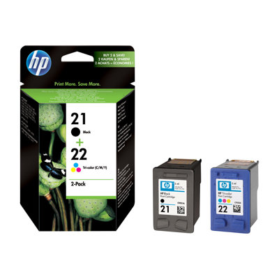 HP - CARTUCCE INK 21/22 PACCO MISTO BLIS
