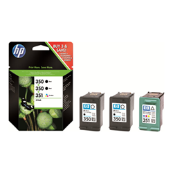 HP - Cartucce hp 350/350/351 3pack