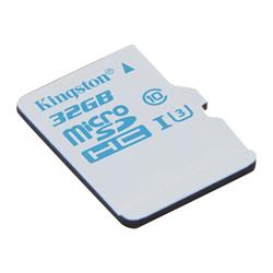 Carte mémoire Kingston - Carte mémoire flash (adaptateur microSDHC - SD inclus(e)) - 32 Go - UHS Class 3 / Class10 - microSDHC UHS-I