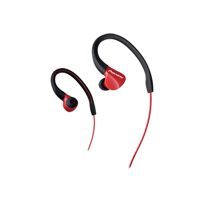 Pioneer - AURICOLARE IN EAR SPORT IPX2 ROSSO