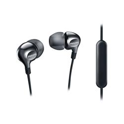 Philips MyJam Vibes SHE3705BK - Écouteurs avec micro - intra-auriculaire - jack 3,5mm - isolation acoustique - noir