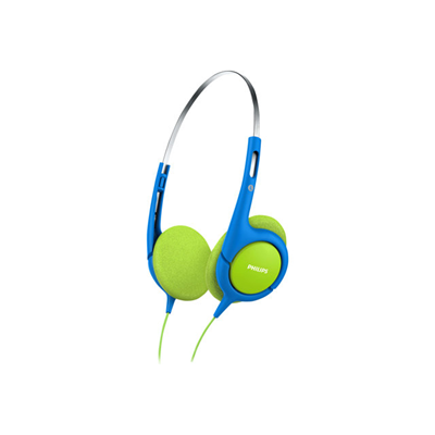 Philips - CUFFIA KIDS BLU/GREEN