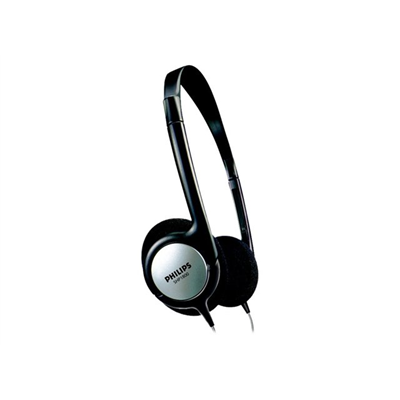 Casque CUFFIA ULTRALEGGERA TV NERA