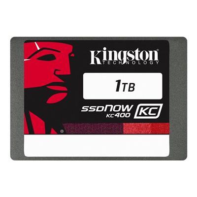 Kingston - 1TB SSDNOW KC400 SSD SATA 3 2.5