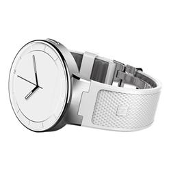 "Smartwatch Alcatel OneTouch Watch - Small/Medium - montre intelligente - 1.22"" - NFC, Bluetooth - 60 g - blanc, gris clair"