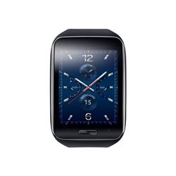 """Smartwatch Samsung Gear S - SM-R750 - smartphone - 3G - 4 Go - GSM - 2"""" - 480 x 360 pixels - Super AMOLED - Tizen - non spécifié - noir"""