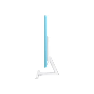 Écran LED MONITOR LED 27 POLLICI PANNELLO PLS CON SMARTPHONE WIRELESS CHARGING INTEGRATO NELLA BASE. DESIGN BIANCO
