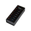 Hub Startech - HUB USB 3.0 a 7 porte con case metallico