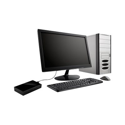 Seagate - BACKUP PLUS DESKTOP 4TB