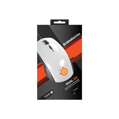 STEELSERIES - RIVAL 100 WHITE