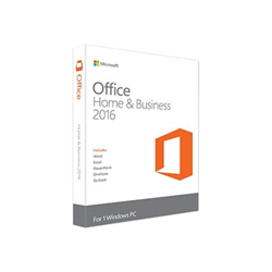 Software Microsoft - Office home and business 2016 medialess-