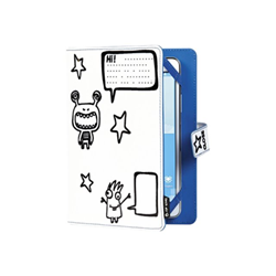 Cover Techair - 10in little monsters kids case