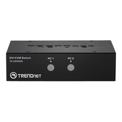 Switch kvm Trendnet - 2-port dvi kvm switch kit