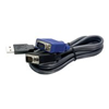 Switch kvm Trendnet - 15-feet usb kvm cable