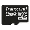 Scheda di memoria Transcend - Sdhc card micro 32gb class 4