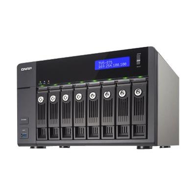 Qnap - 8-BAY NAS  8GB DDR3  RAM