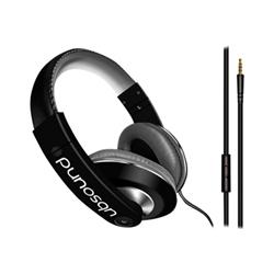 UBSOUND Dreamer - Casque avec micro - sur-oreille - jack 3,5mm - noir