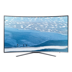 "TV LED Samsung UE65KU6500U - Classe 65"" - 6 Series incurvé TV LED - Smart TV - 4K UHD (2160p) - HDR - UHD dimming - argenté(e)"