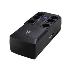 Gruppo di continuità V7 - 750va desktop ups lcd 6 out