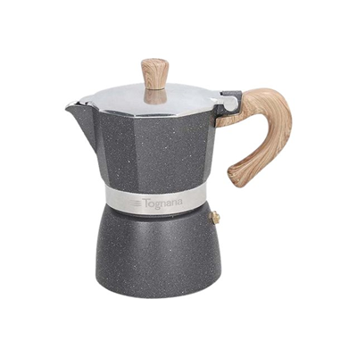TOGNANA - CAFFETTIERA 1 TAZZE COFFEE STAR
