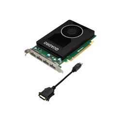Carte vidéo NVIDIA Quadro M2000 - Carte graphique - Quadro M2000 - 4 Go GDDR5 - PCIe 3.0 x16 - 4 x DisplayPort